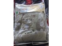 Brand new cot bed set