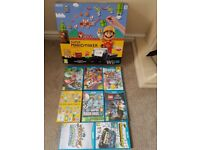 Nintendo Wii U plus 8 games