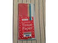 Assorted Craft Items - tissue paper, foam