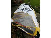 Naish Boxer 5.8 windsurf sail for sale