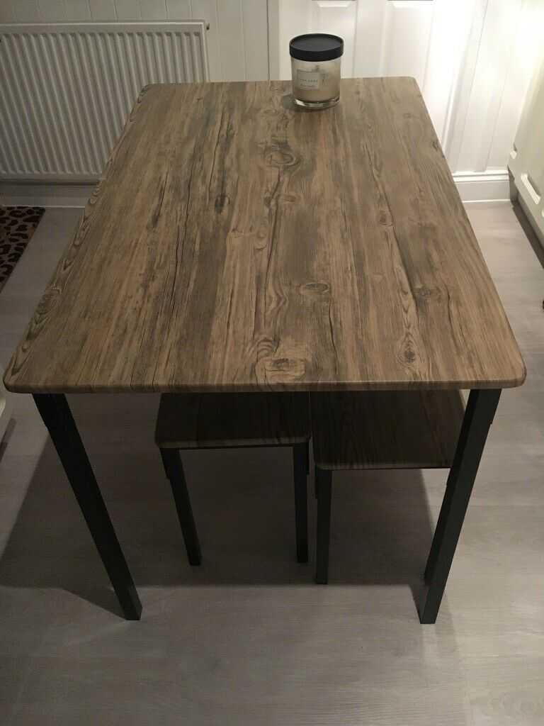Swell Dining Table Bench And Table Set Industrial Looking In Woodford London Gumtree Caraccident5 Cool Chair Designs And Ideas Caraccident5Info