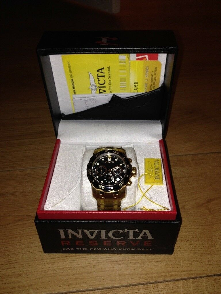 Invicta Watch model 0072 Waterproof 200M