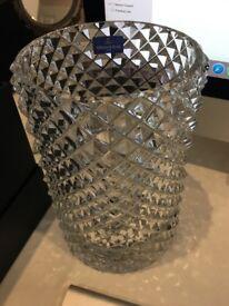 Villeroy & Boch crystal Pieces of Jewellery Vase
