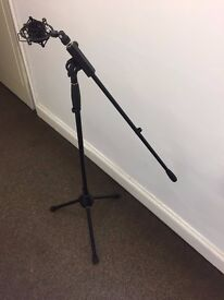 ProSound Microphone stand with Boom - Black