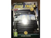 EURO TRUCK SIMULATOR GOLD EDITION PC GAME !!!!