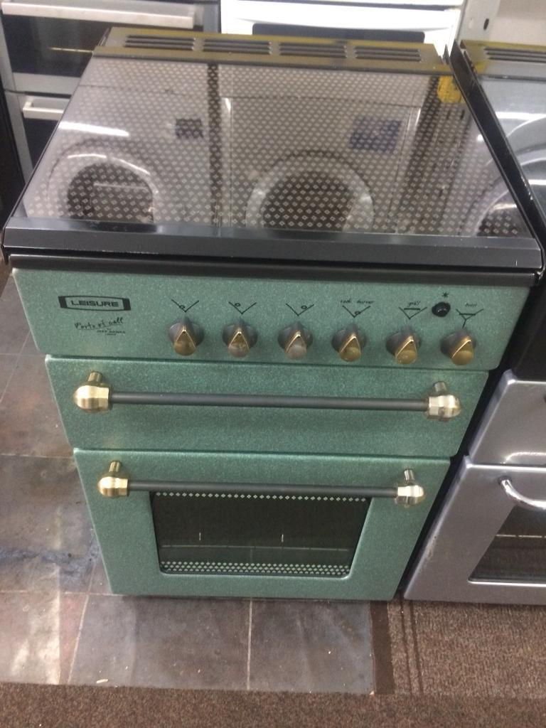 Green leisure 55cm gas cooker grill & oven
