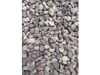 Garden stones / pebbles - approx. 5 tonnes