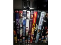 57 DVD Mixed Genre New in wrapper **£30 the lot**