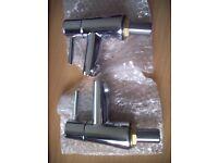 new un boxed Wickes Asmara Basin Taps Chrome