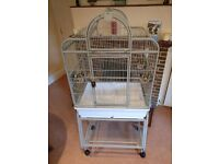 Bird cage with stand (Rain Forest) Top Quality