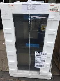 ZANUSSI BRAND NEW BOX ZCG63040BA 60 cm Gas Cooker - Black. £399.99