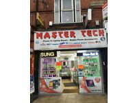 Master Tech Stockport road Mobile phone shop for sale!!!!!! LUCKY NUMBER 888!!! £45000