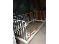 for sale: painted metal day-bed single size