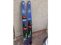 Water skis Pinnacle cut and jump