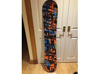Snowboard Skate Banana 154