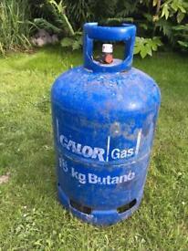 Calor gas 15kg gas bottle