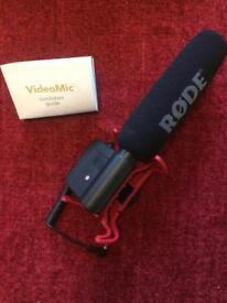 Rode Videomic Rycote Digital Camera Microphone
