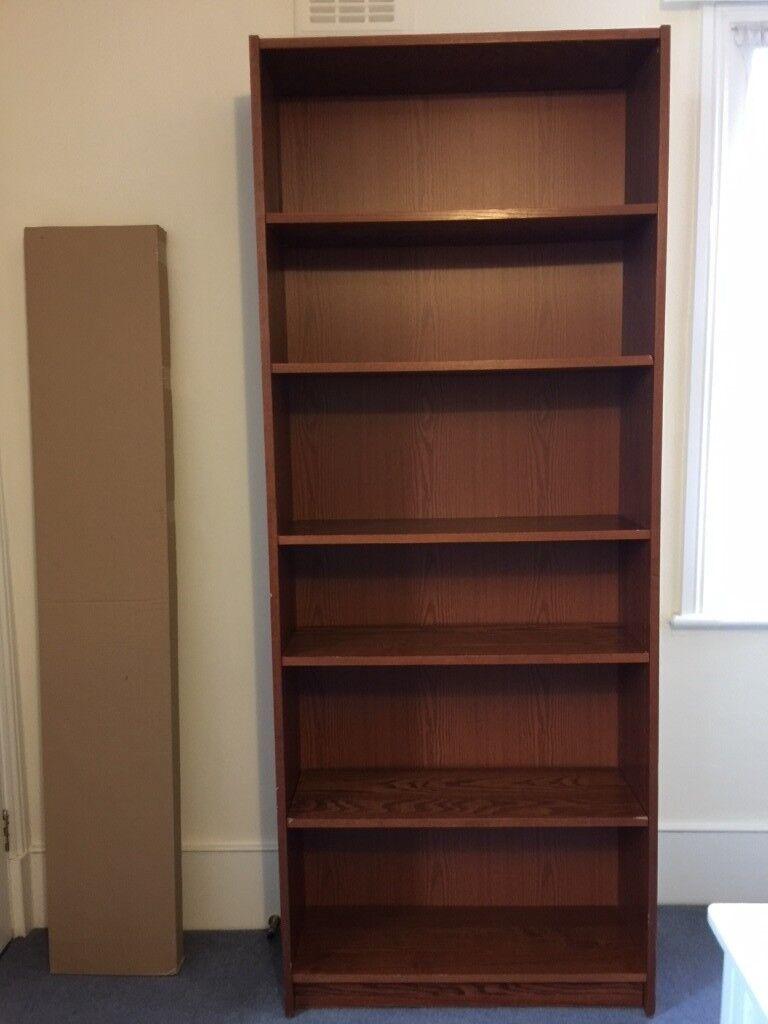 For Free Ikea Billy Bookcase In Brown Ash Veneer In