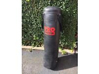 5ft punch bag very heavy and gloves
