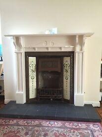 2 Beautiful Victorian Fireplaces