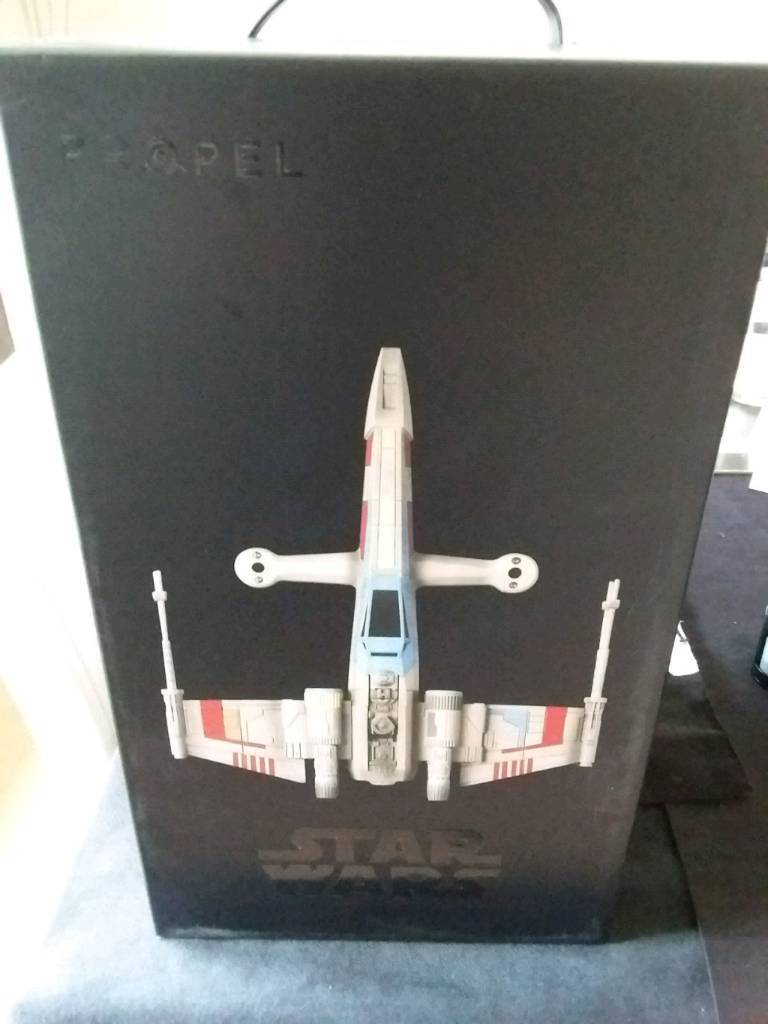 Collectors Edition Star Wars T-65 X WING Star Fighter Quad Drone