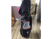 Clubmaxx golf bag and club organiser