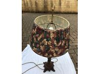 Lamp - American-style table lamp with 4 (1 + 3) bulbs