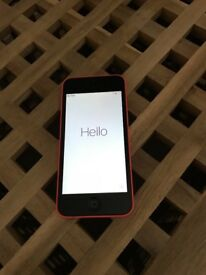 iPhone 5C 8GB Pink Excellent Condition £100 O.V.N.O