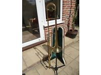 Skylark Trombone with case and mouthpiece