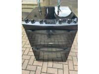 Zanussi Ceramic Electric Cooker 60cm Black