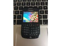 Perfect Unlocked CHEAP CLASSIC BlackBerry Curve 8520 SIM-Free Mobile SmartPhone in Black + USB