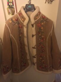 Embroidered Jacket in Excellent condition