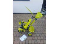 SmarTrike (Smart Trike) 3-in-1 tricycle 'Zoo Frog' (green)