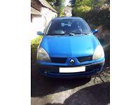 Renault Clio Dynamique 1.2 16v , LOW MILEAGE, Full MOT