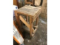 WOODEN TABLE FOR WAREHOUSE WORK/SHOP DISPLAY