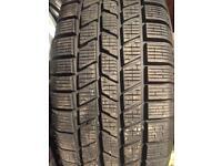 Range Rover alloy wheels with Pirelli winter tyres