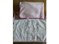 Mothercare cot bumper and blanket