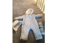 Snow Suit/ Hat and Mits