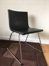 3 Ikea bernhard chairs