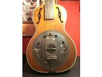 Washburn r360k resonator guitar.