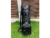 BLACK GOLF BAG Made in England