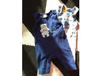 Big 0-3 months baby boy's clothes bundle