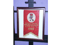 Watney mann world cup special pale ale 1966 banner in frame