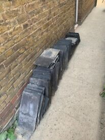 Roof slates from Victorian house in Chelmsford
