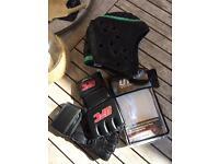 UFC Gloves & a head protector