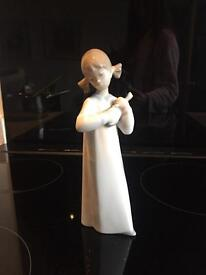 Lladro Figurine Lute Player