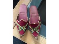 Vintage souvenir shoes