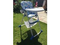 Fab mothercare highchair - hardly used