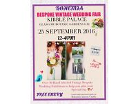 Bohemia Fairytale Bespoke and Vintage Wedding Fair