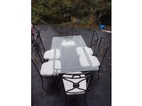 2 x kitchen tables and 6 chairs